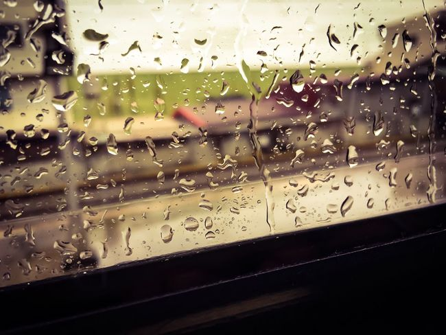 Train Train Trip Travel On The Train Window Drop Rain Water RainDrop Railway Life Taiwan Kaohsiung