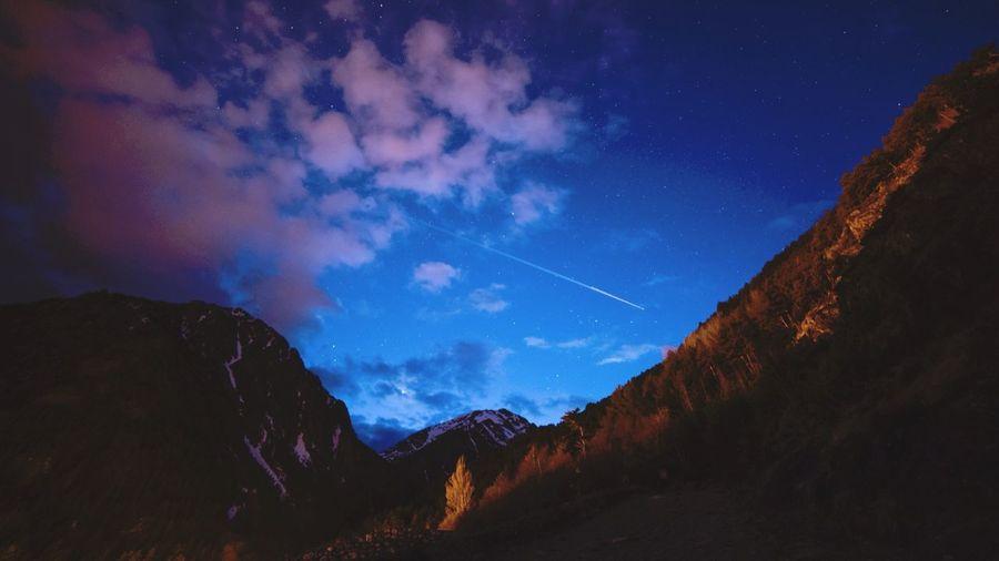 Landscape Night Nightphotography Andorra