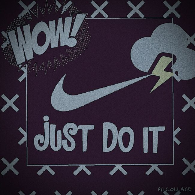 Just do it (NIKE) Check This Out First Eyeem Photo