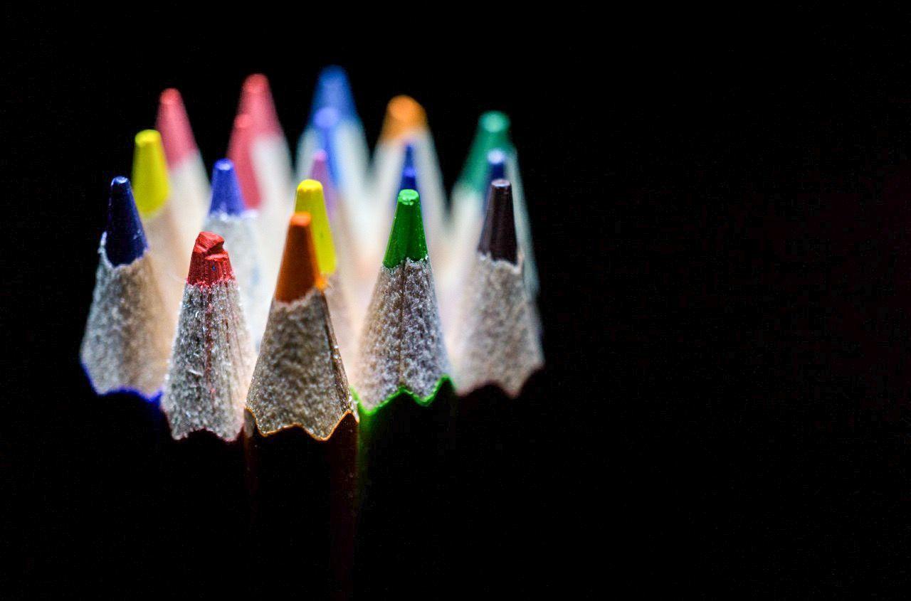 Beautiful stock photos of pencil, Art And Craft, Bunch, Close-Up, Colored Pencil