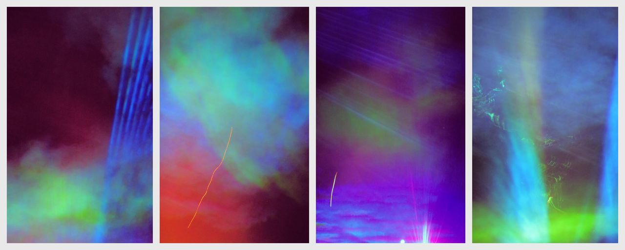 #clouds  #colours #dust #fog #laser #light #sky #trippy