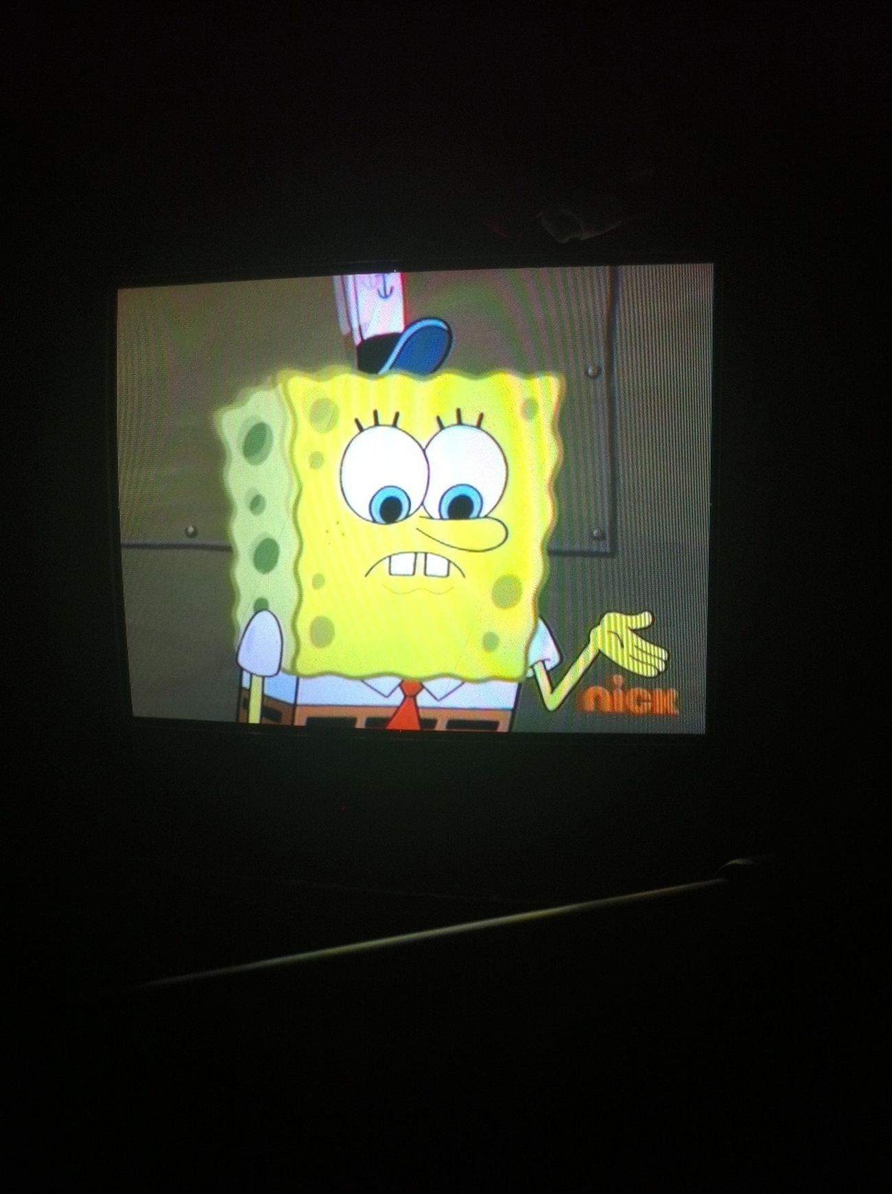 Chilling Watching Spongebob Square Pants