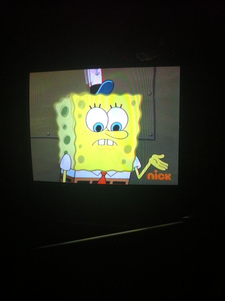Chilling Watching Spongebob Square Pants