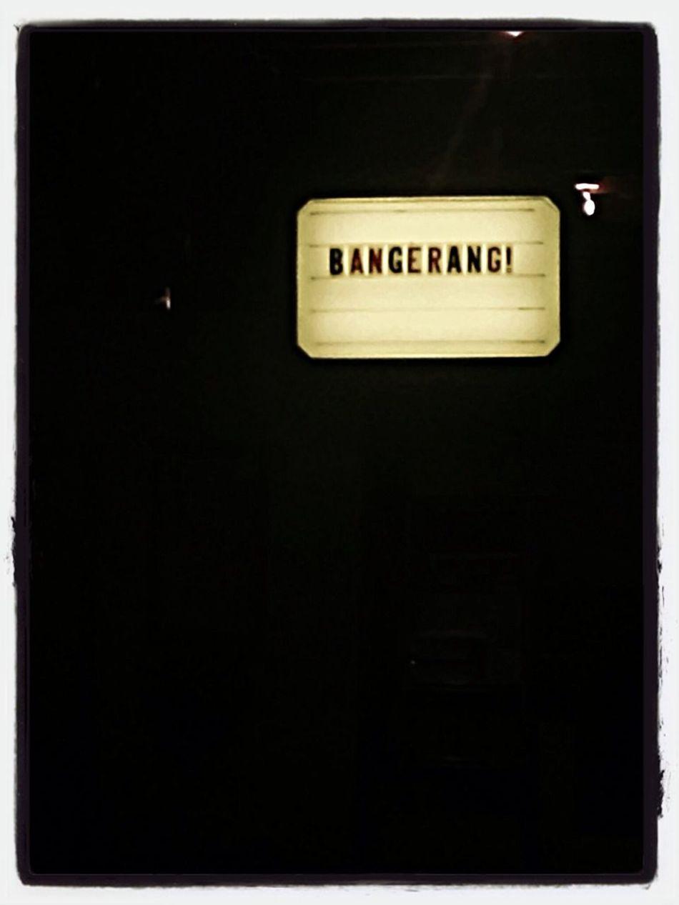 Coffee Shop Bangerang
