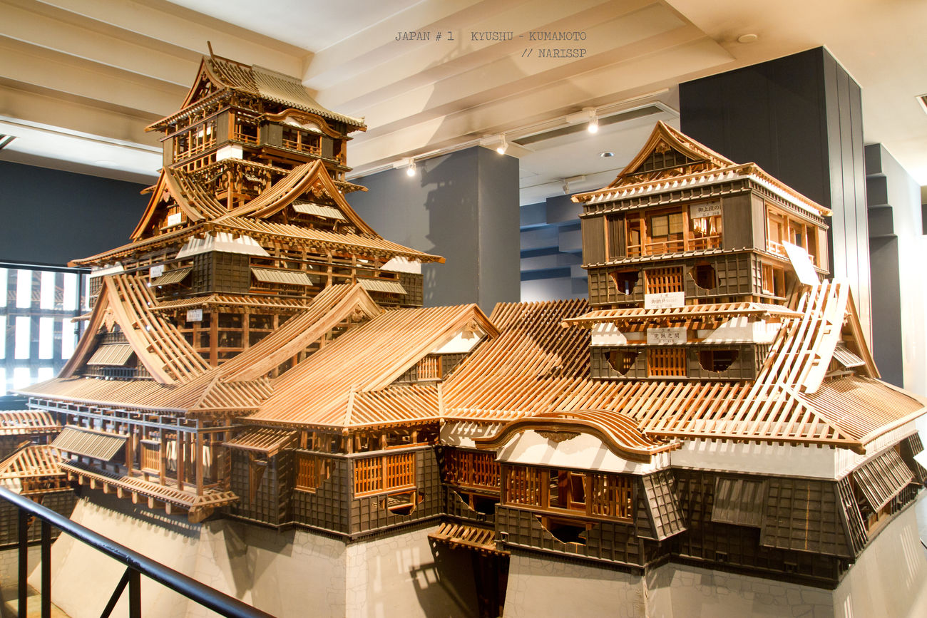 Kumamoto Castle Model. Architectural Column Architecture Built Structure Business Business Finance And Industry Castle City Concert Hall  Culture Day Earthquake Finance Indoors  Japan KUMAMON Kumamoto Kumamoto Castle Kumamoto Earthquake Library Luxury Model No People Traditional Travel Destinations Wealth