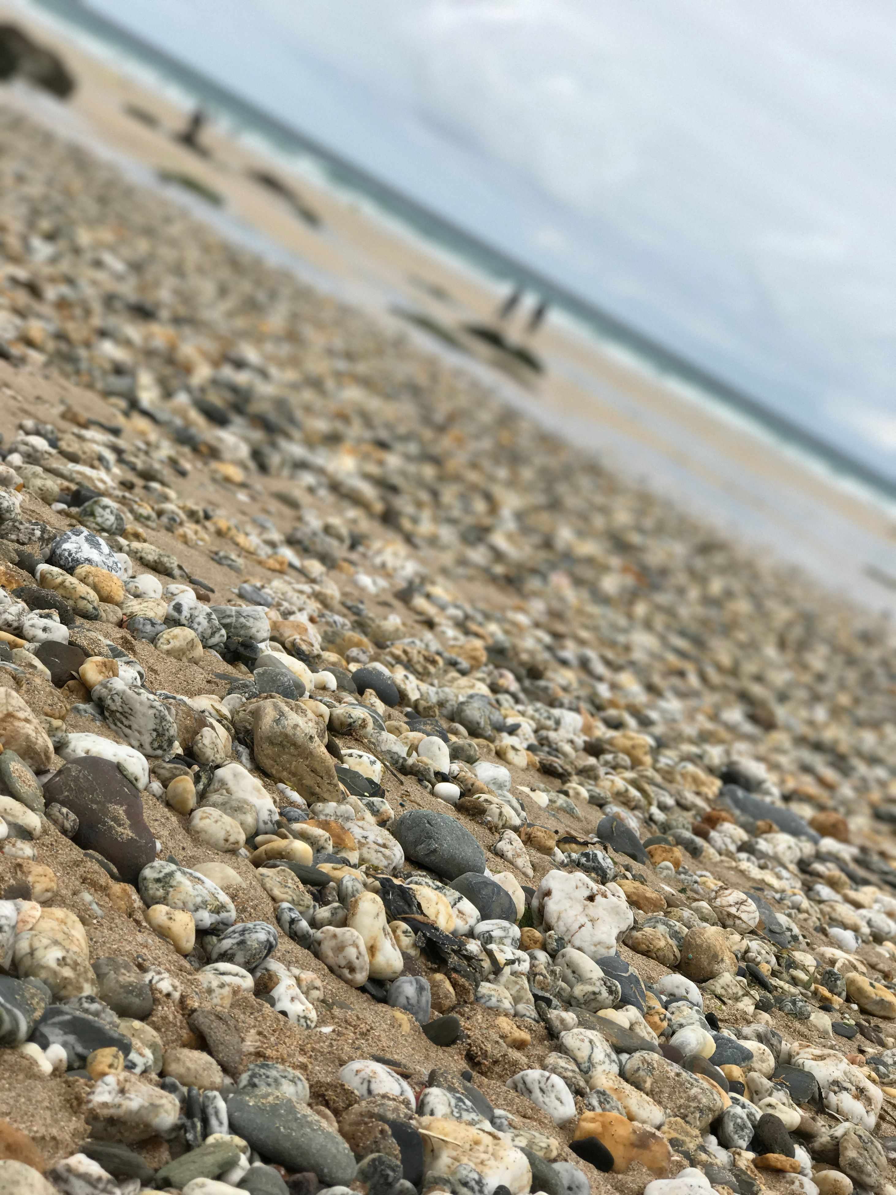 beach, sea, nature, water, sand, close-up, surface level, pebble, shore, no people, beauty in nature, tranquility, day, sky, pebble beach, outdoors, tranquil scene, scenics
