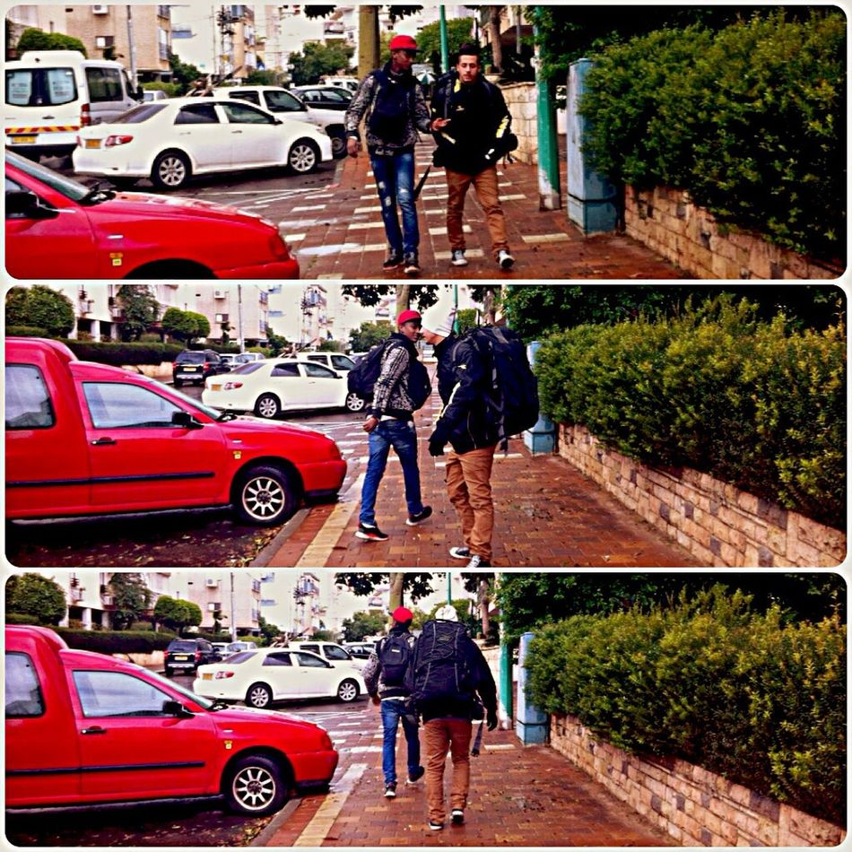My Friends Walking Around Turning Around Hello World Enjoying Life Hanging Out Taking Photos Collage Photo By Me