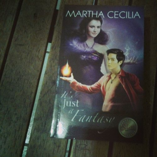 Now reading Itsjustafantasy by Marthacecilia Phr Preciouspages preciousheartsromances phromances booklover phrfan lovereading