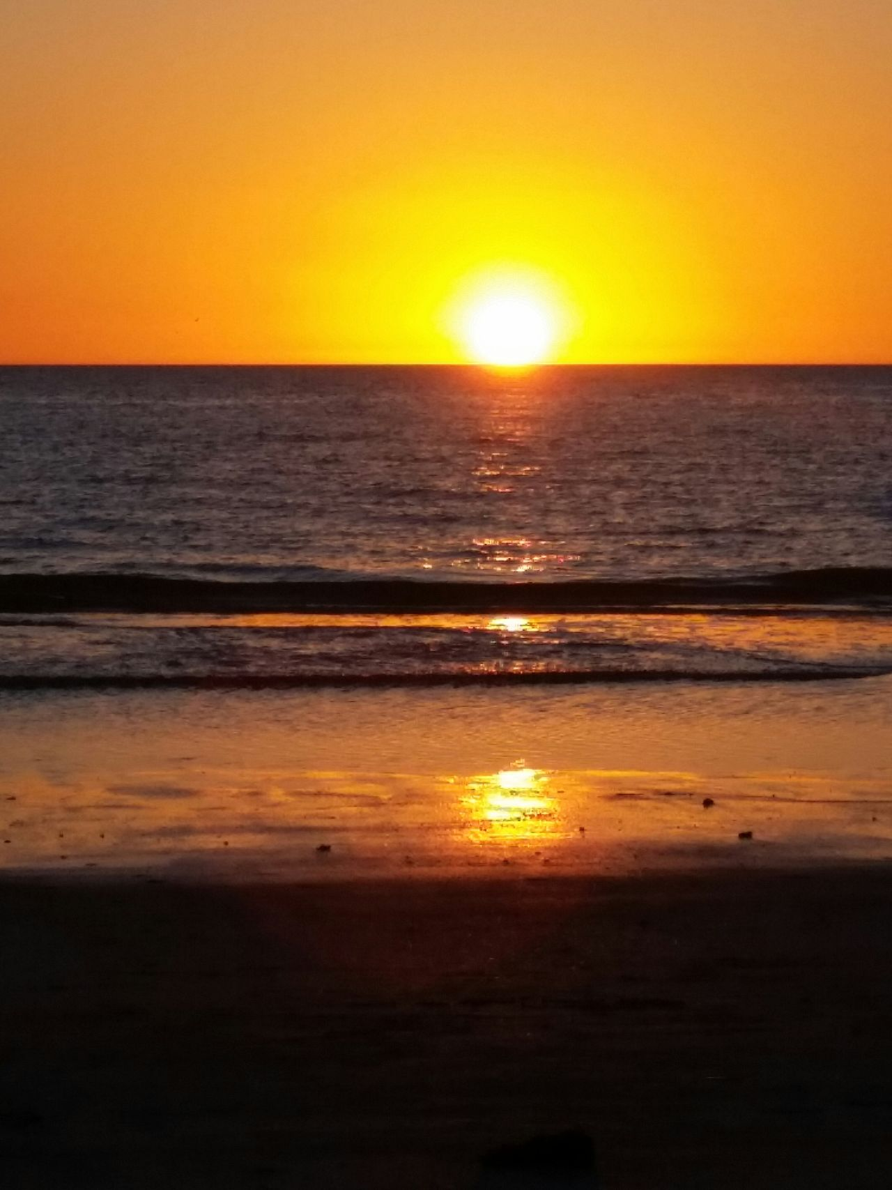 Love my life.... Another amazing Florida sunset!!!!! Florida Sunset Nature Enjoying Life Outdoors Beach Beachlife