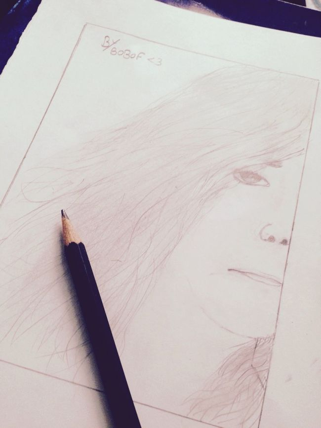 Art Drawing Girl Beauty by me <3
