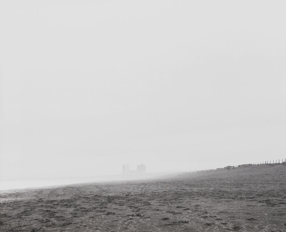 Black And White Day Fog Landscape Long Exposure Mist Nature No People Outdoors Sea Shore Sky Strong Wind