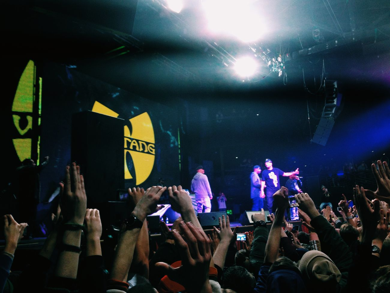 Wu-Tang  Clan BIG Party in Moscow HipHop Underground Shaolin Dad's