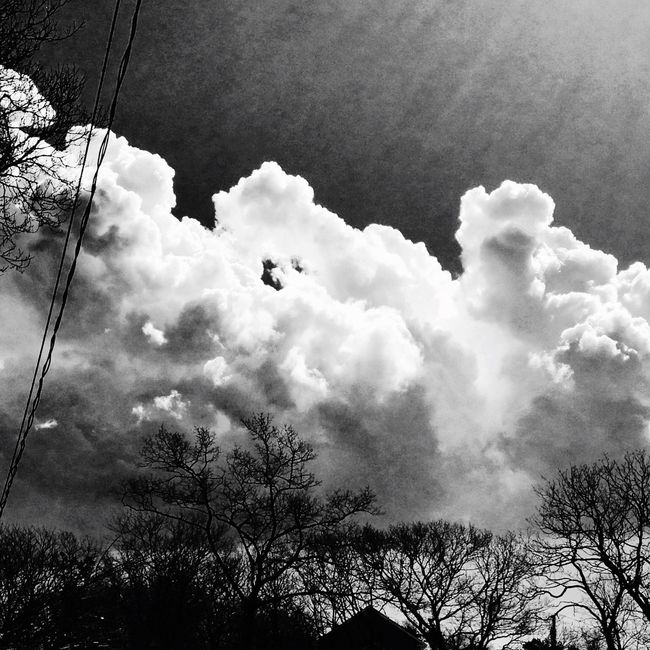IPhoneography From Where I Stand Landscape_Collection EyeEm Nature Lover Nature_collection Planetearth Sky_collection Clouds And Sky Blackandwhite Photography Mothernature Sunshine