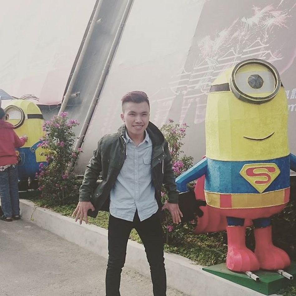 Minions superman Happynewyear 2016 Lunarnewyear Holiday Foguangshan Minions Superman Funny
