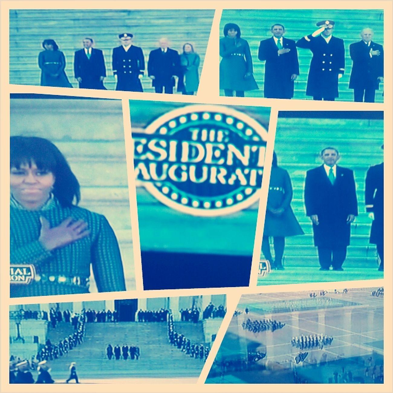 Watching The Inauguration