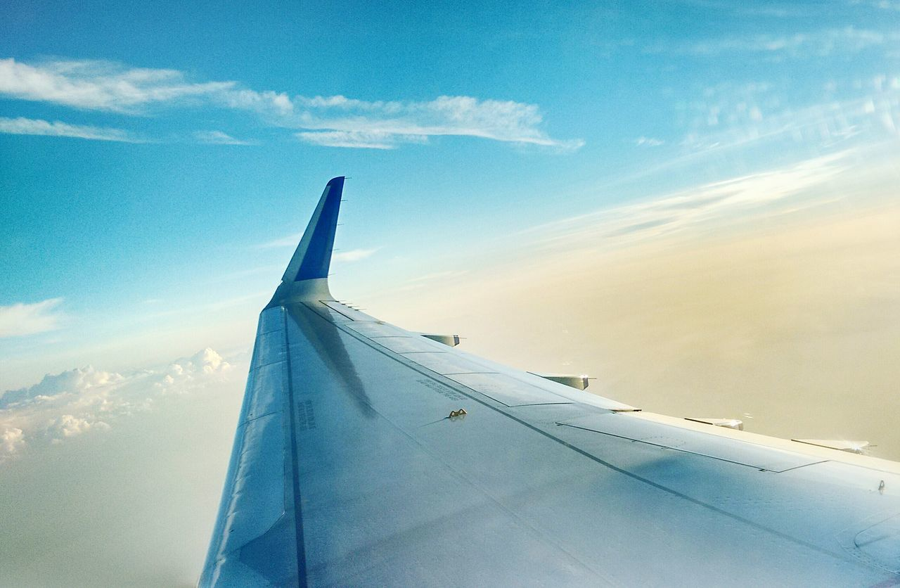 When you're on a plane. And It's not raining. Sunshine Daylight Clouds And Sky Relaxing Nice Atmosphere View Airplane Window Wing Flying