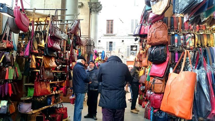 Leatherbag Market Florence Colourful People Toscana2014 Italy❤️ Holidays ☀ I ❤ Florence Colours