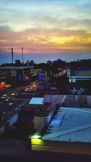 The lights were turning down and cool night breeze was in effect Africa Is The Future Sunset_collection Cityscapes City 2.0 - The Future Of The City Cities At Night