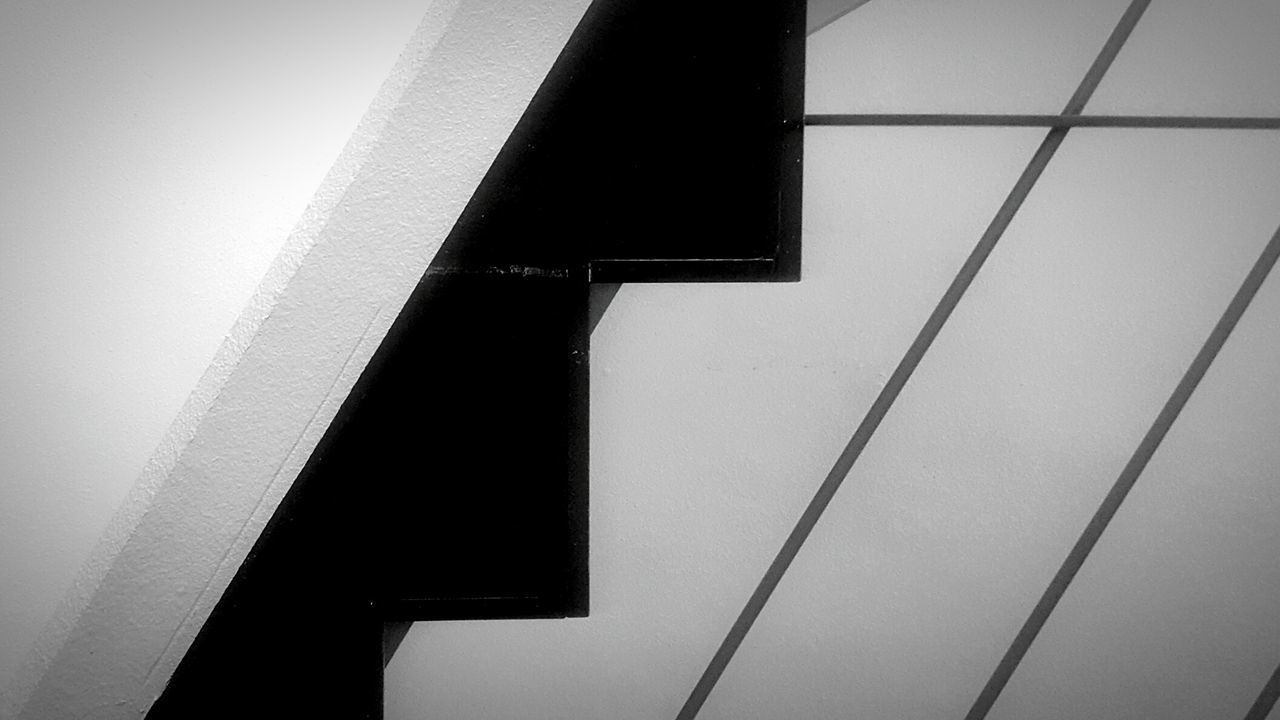 Architecture No People Stair Stairway Blackandwhite Composition