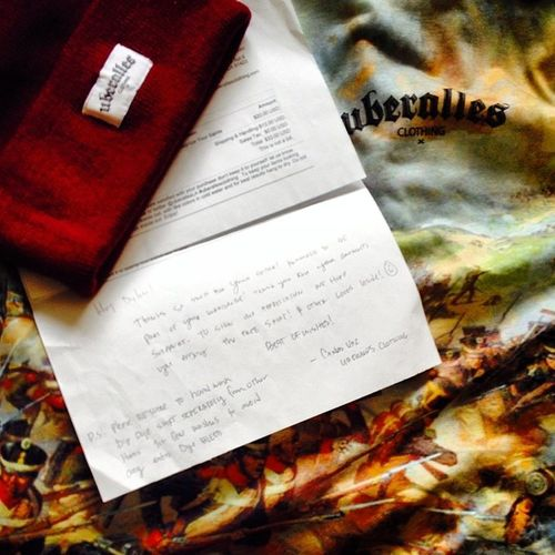 Everyone get around uberalles clothing, they have sick as fuck gear and great company to customer relations! @uberalles überalles Quality Streetwear Fuckyeah dprox