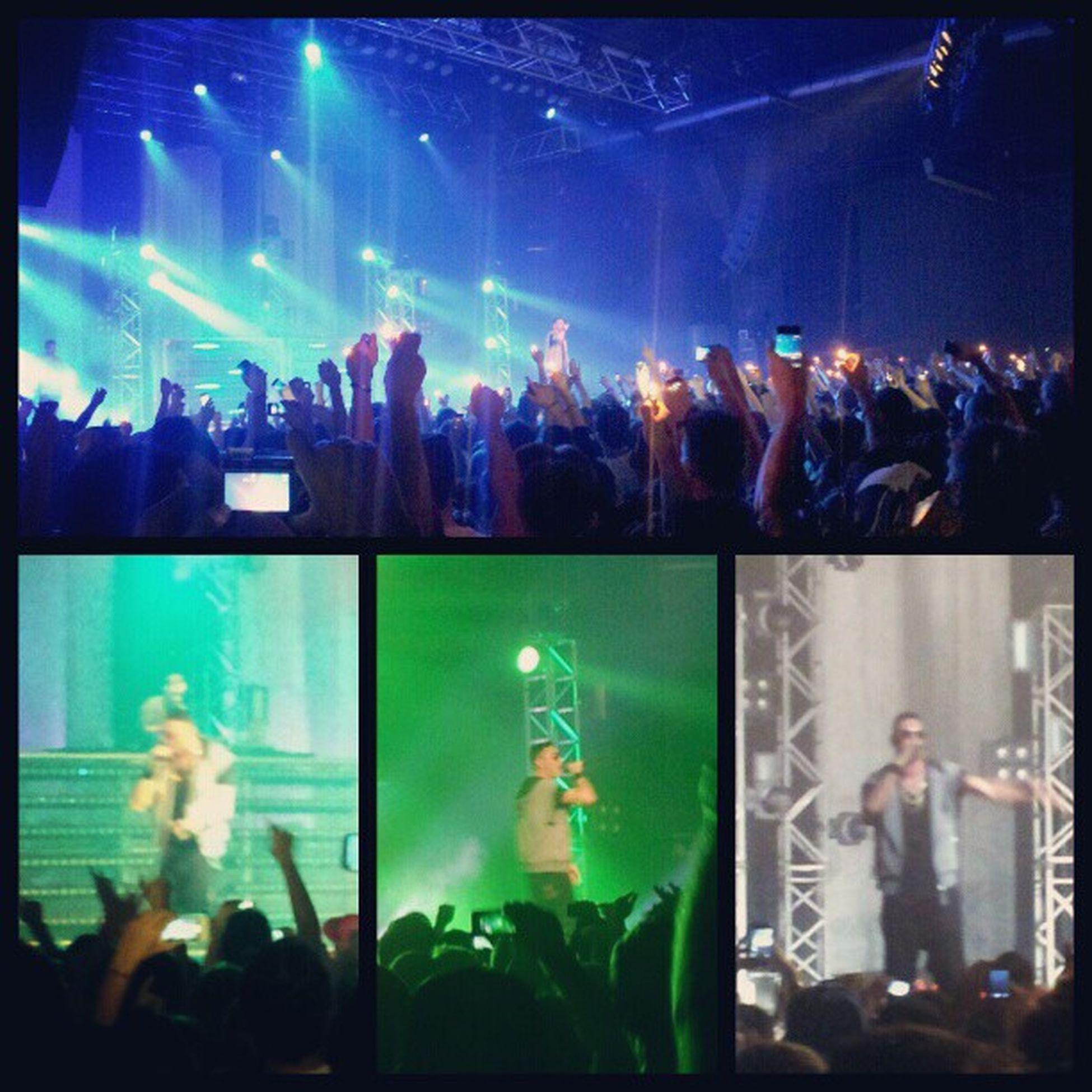 Marracash  GiustoUnGiroTour Milano RocciaMusic Onstage KingDelRap DayOne 20/11/2012