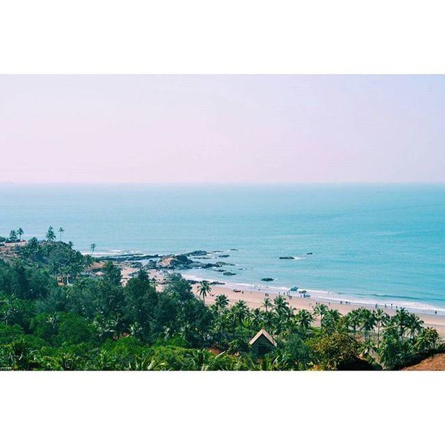 G ⊙ A IndiaJourney Goa Vagator Beach India Northgoa Chaporafort Fort Topview Vscoindia VSCO Vscocam Vscoexplore Vscotravel Explore Travel
