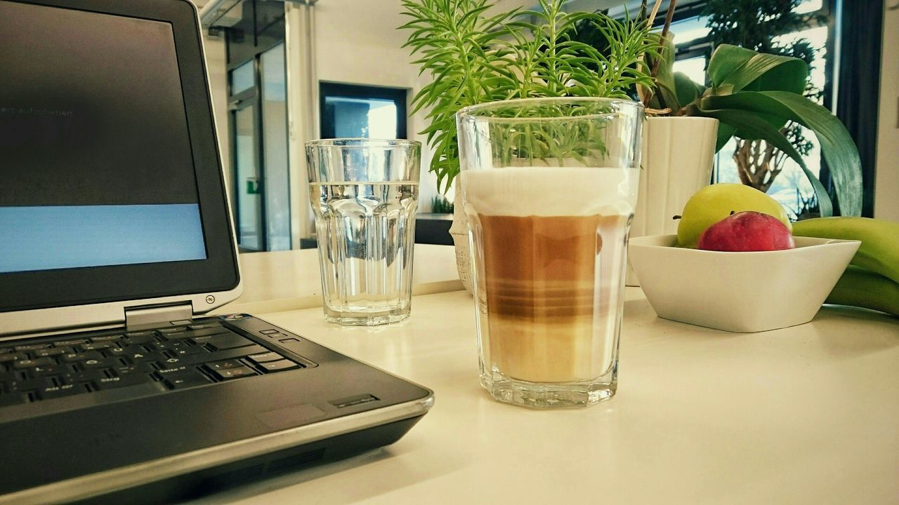 Optimal Work Environment in the Morning. Koffee is always A Good Start :)