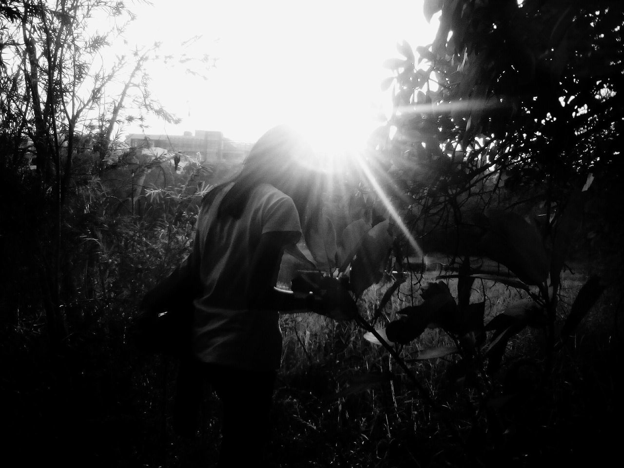 Against the light! One Person Leisure Activity Sun Casual Clothing Sunlight Outdoors Women Standing Young Adult Three Quarter Length Bae❤️ Love ♥ Along The Riverside Capture Togetherness Happiness Irritator Sehor's Photography