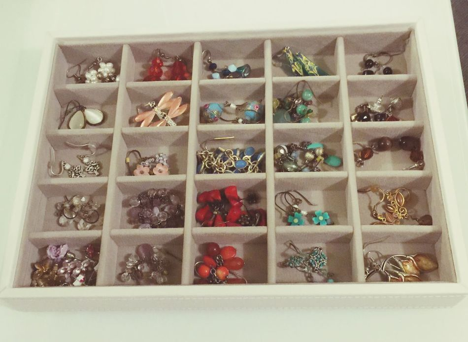 Jewellery Box Jewellry Things Organised Neatly