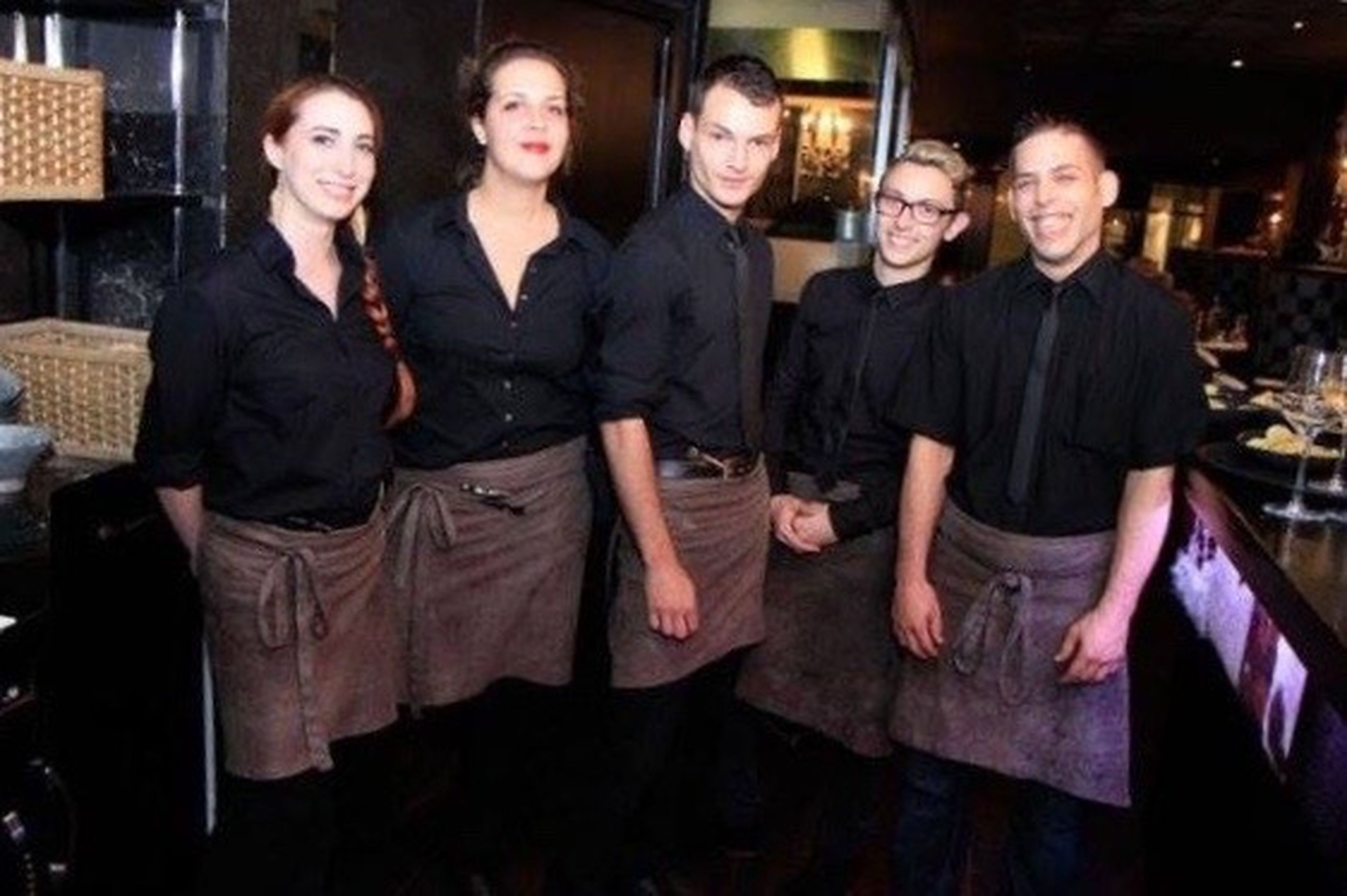 Waiter Working Dijon Grillandcow