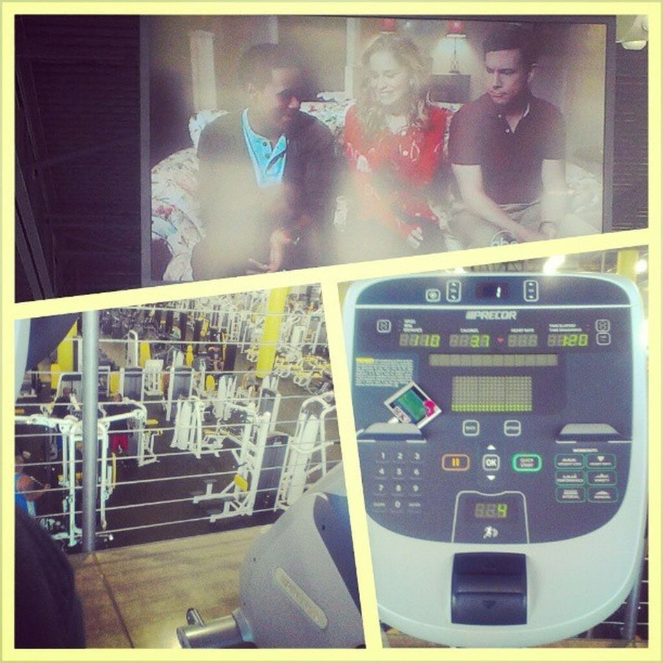 At the gym...on the #bikes (and watching the TV's too lol) #cardio #gb3 #gymrat #gym Feeltheburn Fitsperation Workout Bikes Gym Fitness Weightloss Fit GymRat Cardio Workingout Fitspo Gymrats Gb3