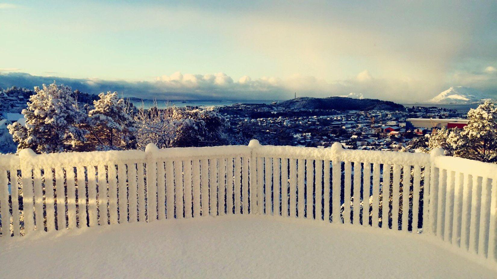 Beautiful view! Norway Florø Winter Wonderland ❄