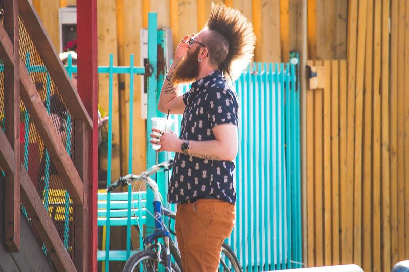 Happiness Real People Lifestyles Yeg Edmonton Whyte Ave Punksnotdead