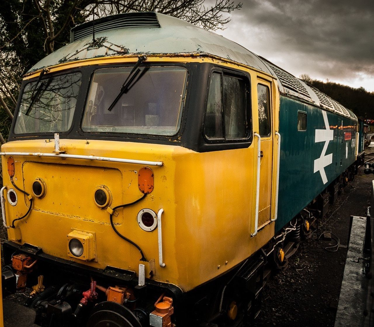 Class47 Diesel Locomotive Train Battlefield Line Skyporn Moody First Eyeem Photo EyeEm Best Shots Eye4photography