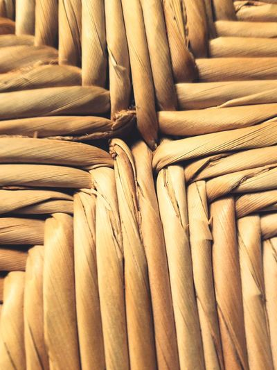 Wood Backgrounds Textile Pattern Close-up Straw Texture