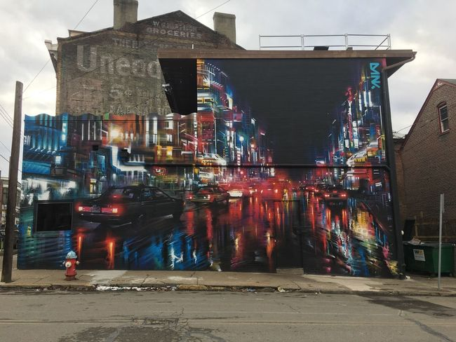 Architecture Art Building Exterior Built Structure City Day Mural Outdoors Painting Streetart Urban