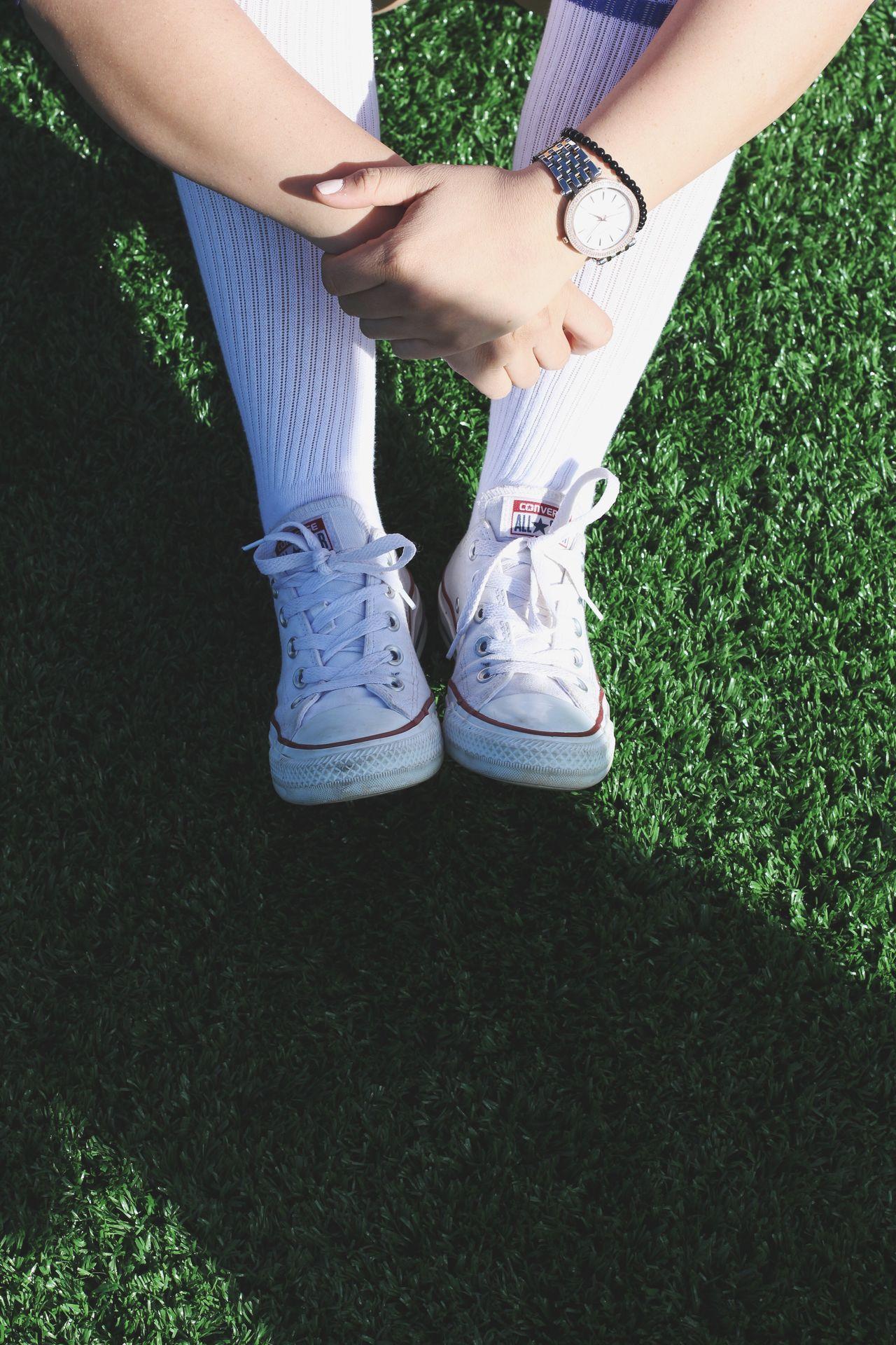 Beautiful stock photos of uhren, Canvas Shoe, Day, Field, Grass