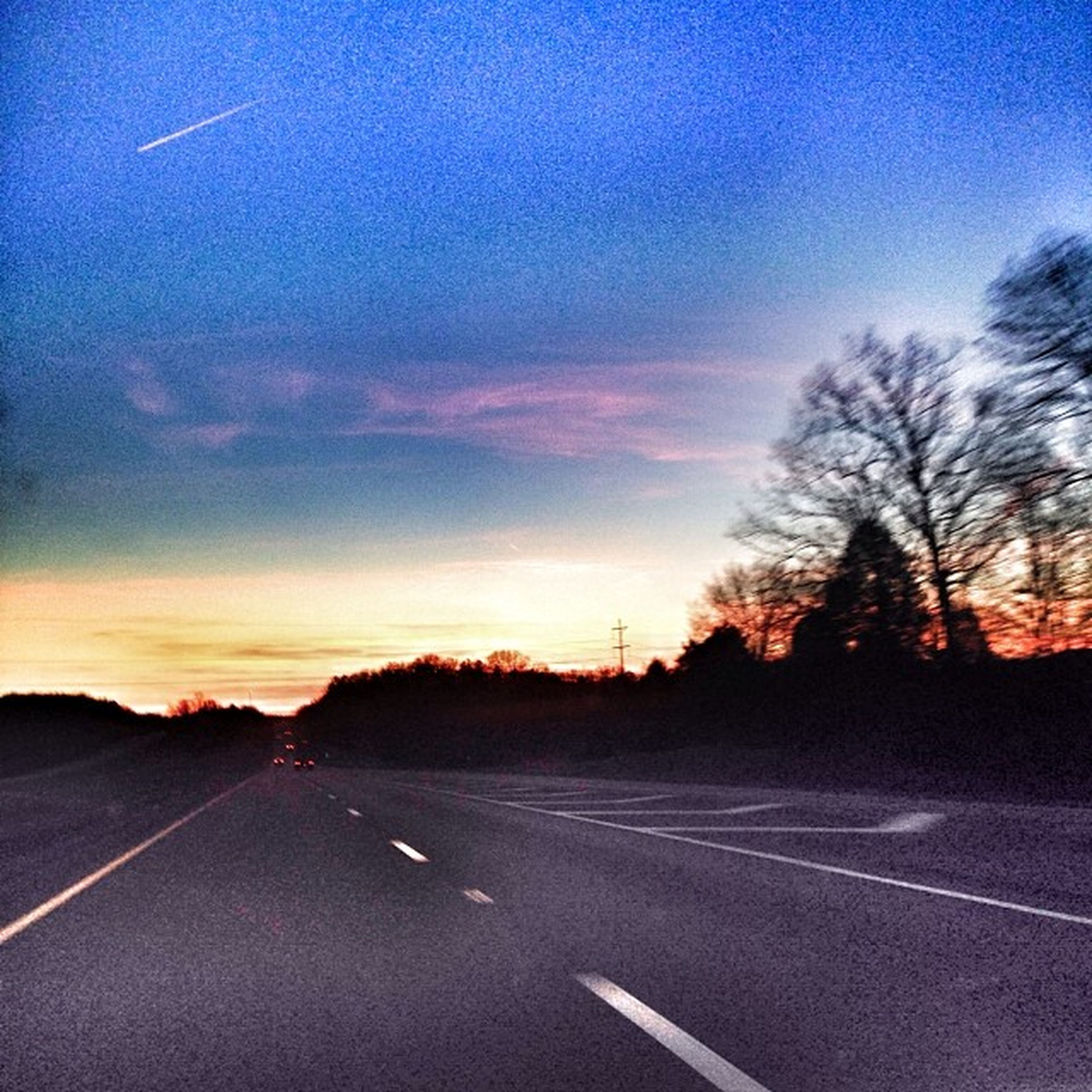 Interstatedriving Floaton Sunset Tennessee