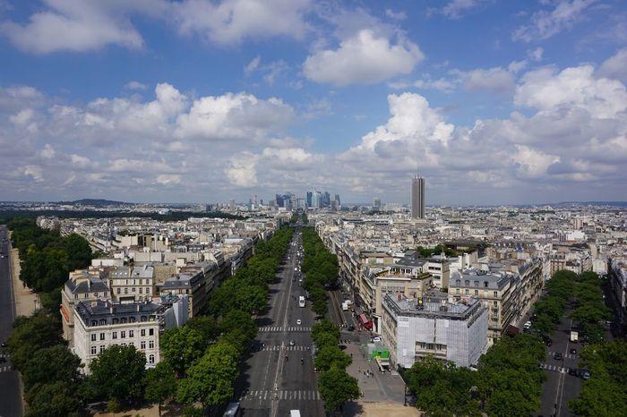 Vanishing Point L'arc De Triomphe Paris, France