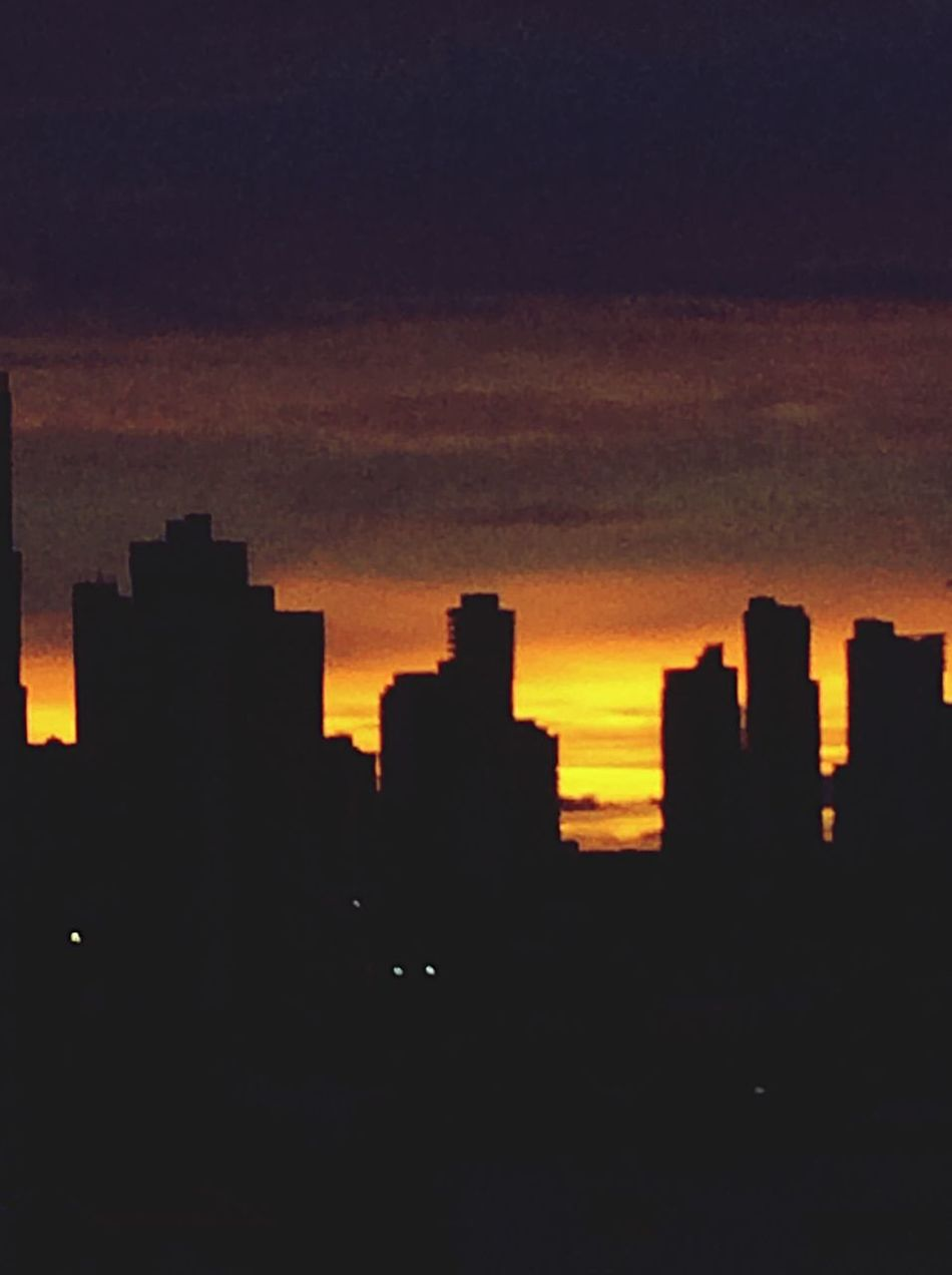 Sunrise? Urban Sunset