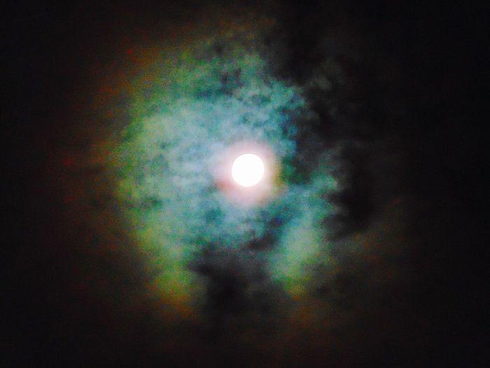 Rainbow of the moon First Eyeem Photo Moon Rainbow🌈 Full Moon