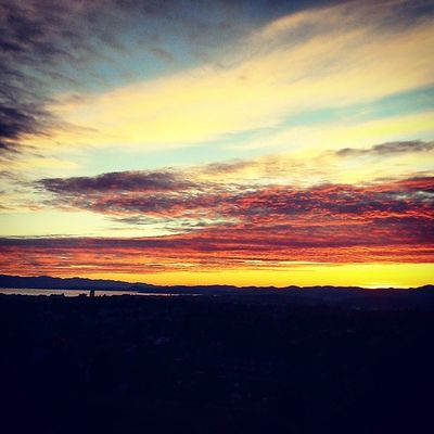 So Lucky to be able to sit OnTop of a Mountain to Watchthesunset sunset Victoria mounttolmie beautiful bliss best backyard gorgeous sky nofilter nevergetsold adaytoremember