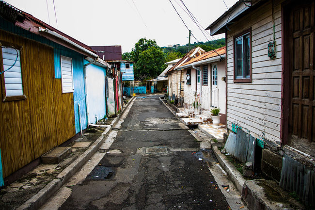 Alley Architecture Building City Diminishing Perspective House Residential Building Residential Structure Street Third World Country Town