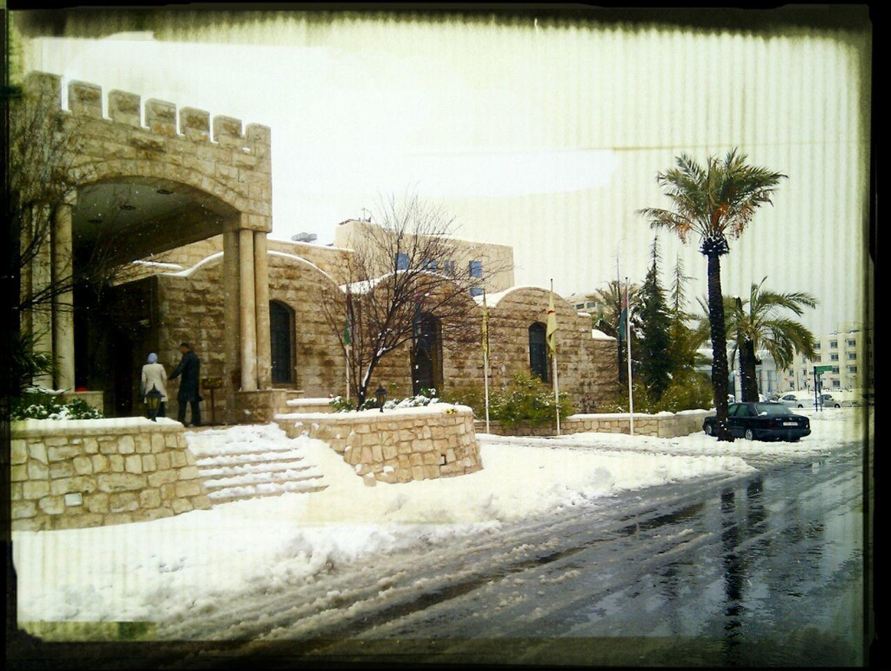Snow In Jordan