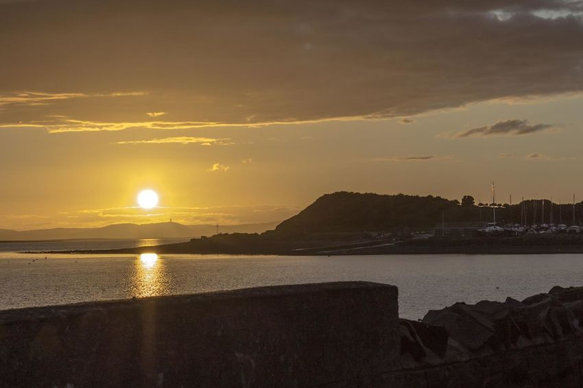 Sunset Strangford Northern Ireland Check This Out Taking Photos Landscape_photography Ireland Enjoying The Sun Sun Boats