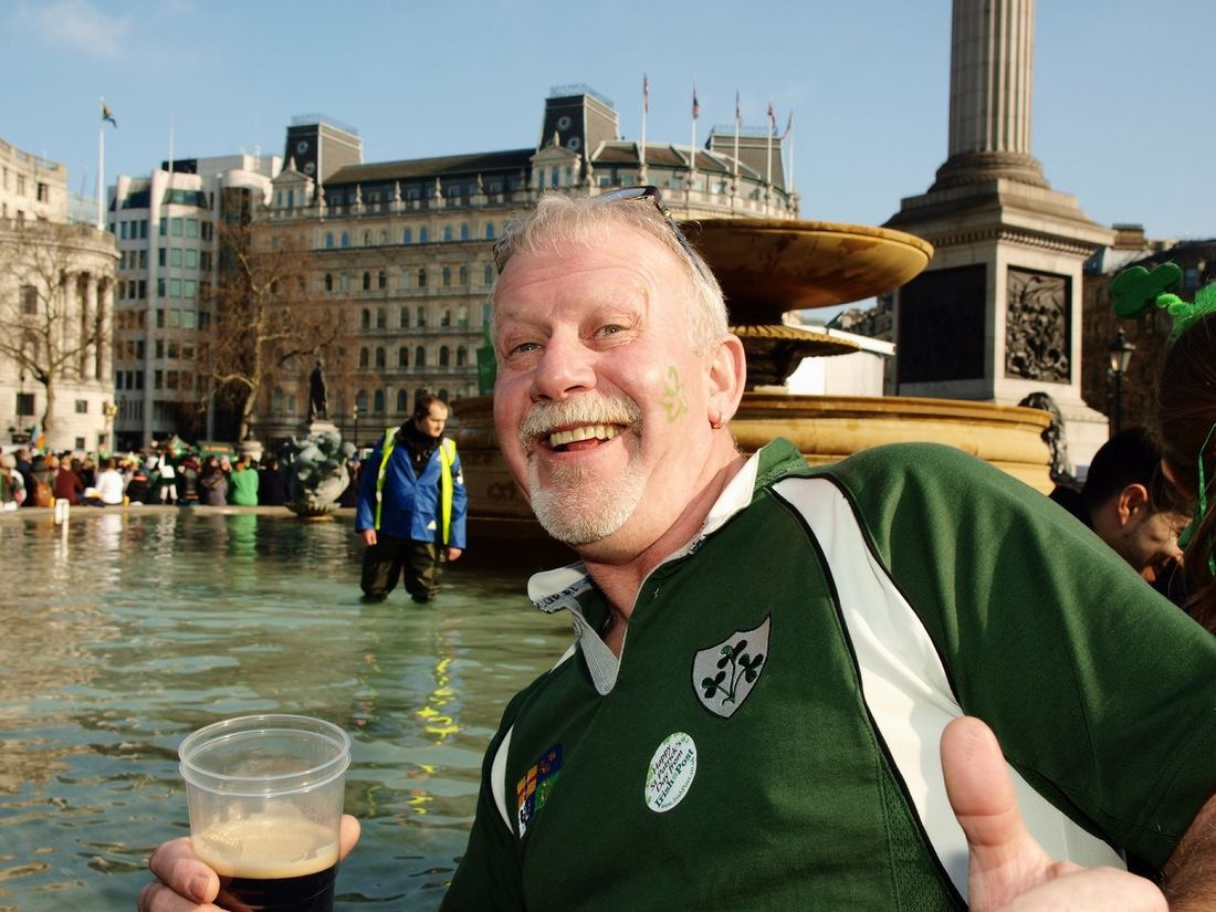 Saint Patrick's Day, 13-03-16, Trafalgar Sq, London Olympus Zuiko Stevesevilempire Steve Merrick Saint Patrick's Day SAINT PATRICKS DAY London Trafalgar Square Irish