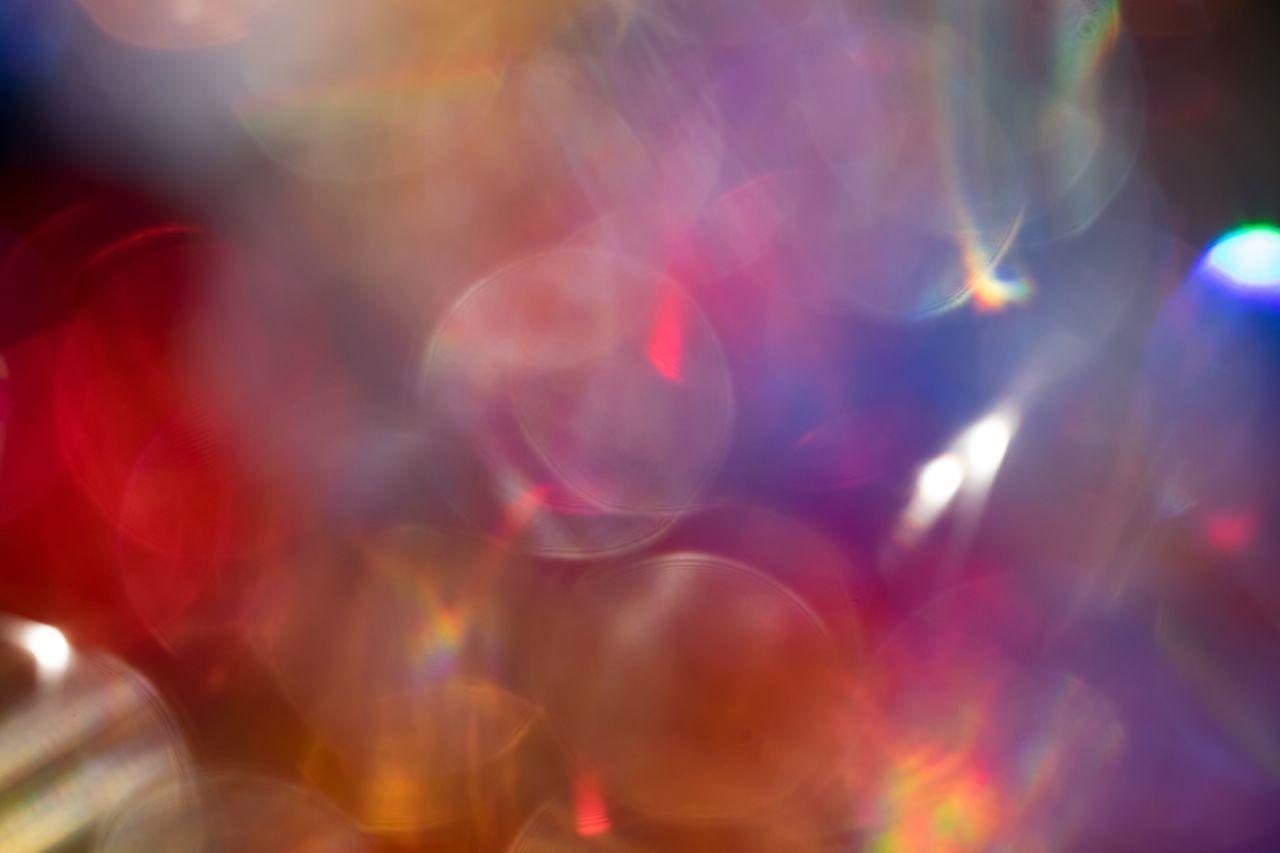 Multi Colored Illuminated Close-up No People Indoors  Night Bubble Wand なんかキラキラしたもの ✨ Bokeh Something Glittery