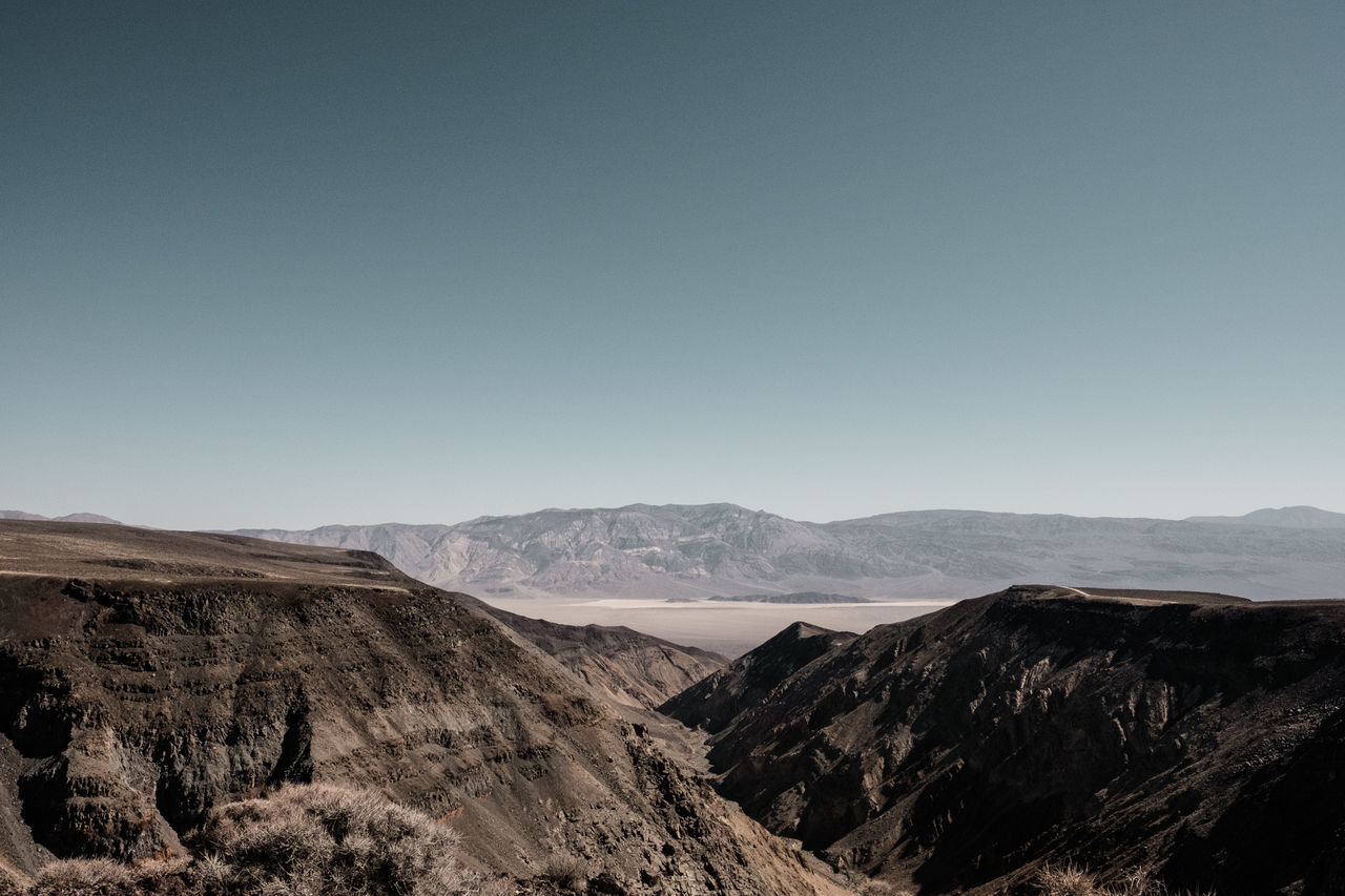 Death Valley. Looks as inviting as it sounds. View from Rainbow Canyon. Adventure California Death Valley Desert Exploring Fujifilm Globetrotter Hiking Jedi Transition Landscape Photography Nature No People On The Road Outdoors Rainbow Canyon Roadtrip Route 190 Scenics Travel Photography Traveling USA Vacation Wanderlust Wide Angle Lens X-T10