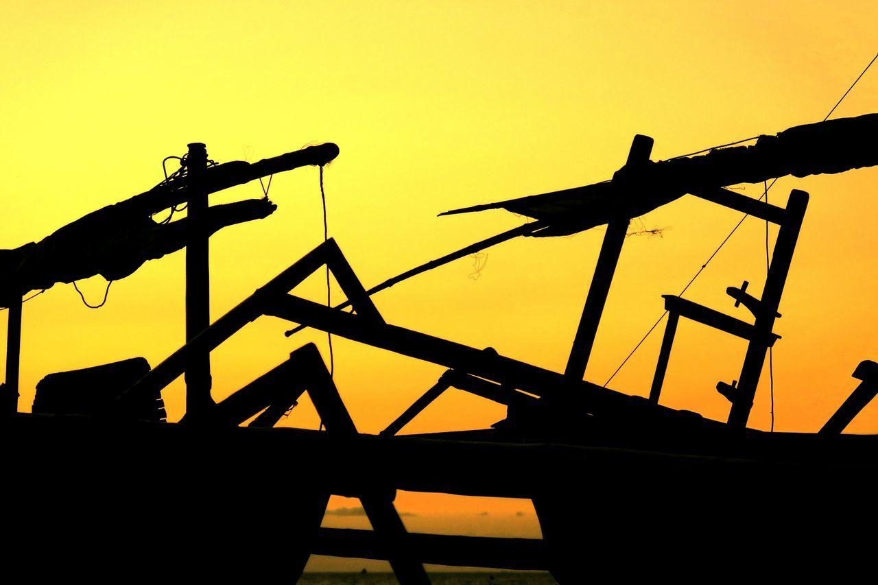 Traditional Boat Of Lombok Tanjung Karang Ampenan Fine Art PhotographyIndonesian Photographers Collection EyeEm Gallery Sunset Silhouettes Indonesia_allshots Lombok Island Ampenan Sunset_collection Showcase July Alam Kundam Lombok Gallery