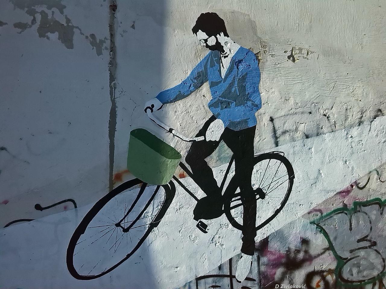 Beautiful stock photos of art, Art, Bicycle, Creativity, Day
